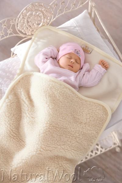 Natural wool for Misure cuscino carrozzina